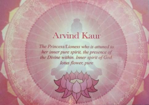 Arvind Kaur meaning