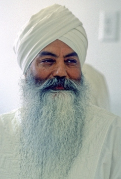 Portrait of Yogi Bhajan, 1986